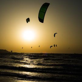 Flying kite by Rabo Rafaelov - Sports & Fitness Other Sports (  )