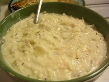 Creamed Sauerkraut