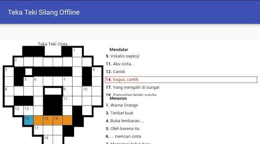 Teka Teki Silang (Game TTS) 1.0 screenshots 9