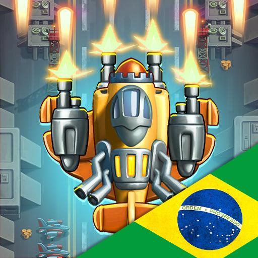 Combata os invasores do espaço e tenha a chance de montar um Megabot de Invasão!