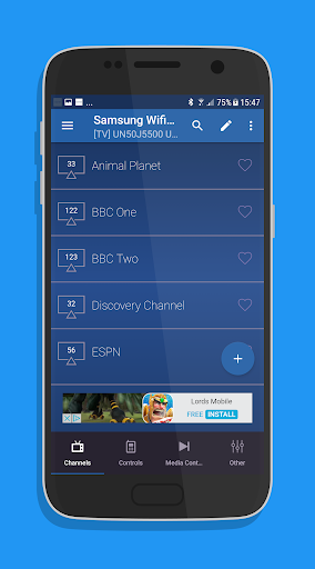 Remote for Samsung Smart TV WiFi Remote 2.2.2 screenshots 2