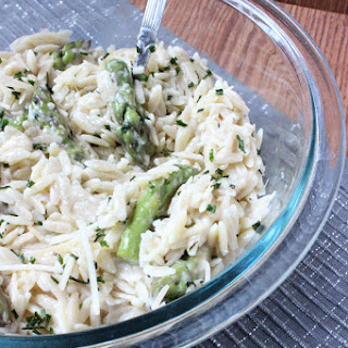 Orzo and Asparagus