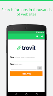 Find job offers - Trovit Jobs - náhled