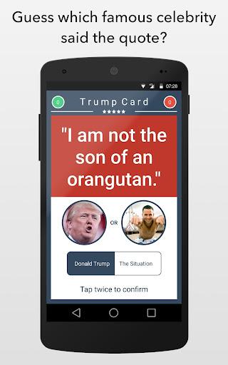 Trump Card - Donald Trump Game