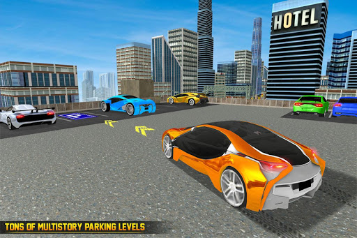 US Futuristic Car Parking: Free Parking Games  screenshots 1