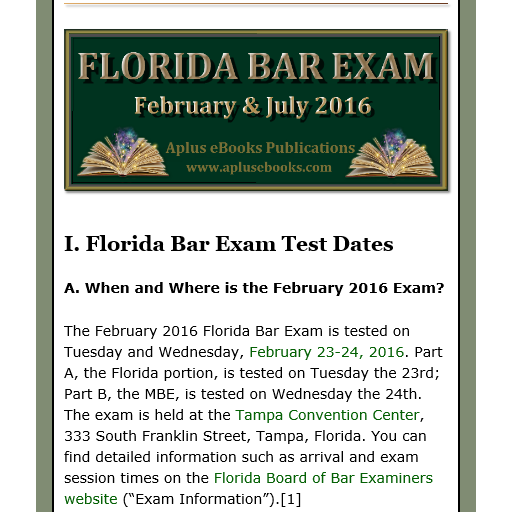 florida bar exam essays february 2015