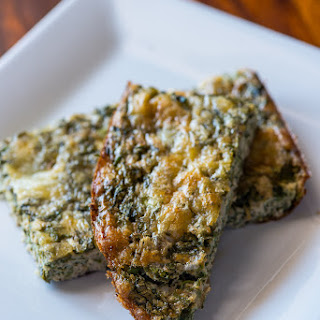 Crustless Calalloo (Amaranth) Quiche Recipe | Low Carb, Paleo, Gluten Free, Diabetic Friendly.