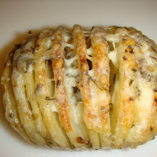 Sliced Baked Potatoes With Cheese Recipes.