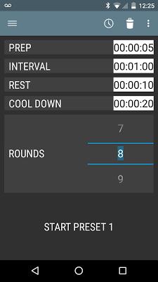 Interval Timer - screenshot