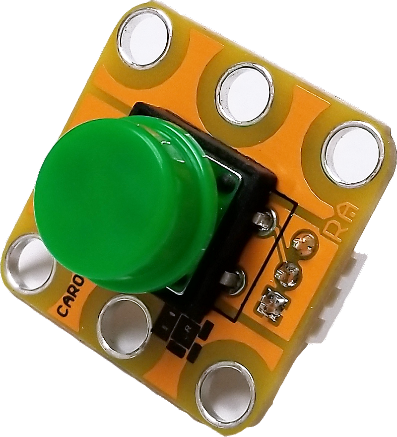 A CAROBOT SwissCHEESE green button.