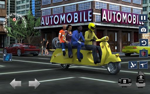 Bus Bike Taxi Driver u2013 Transport Driving Simulator apkdebit screenshots 7