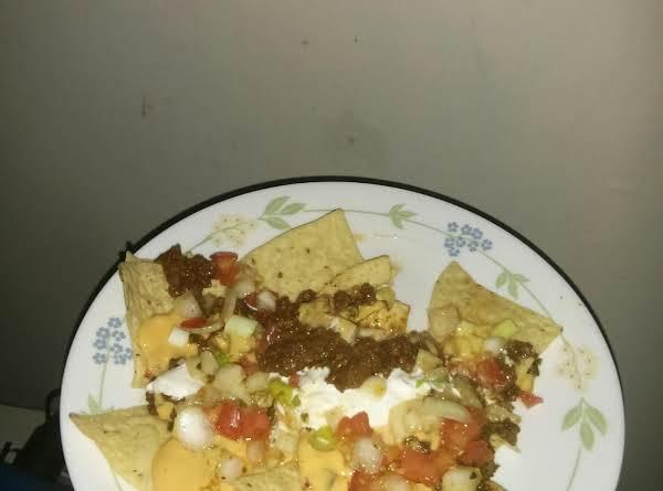 Nachos (leftover Meatloaf) Recipe
