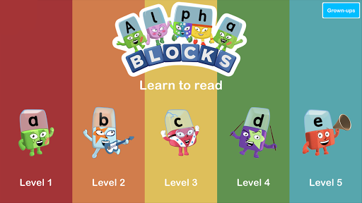 Alphablocks: Watch and Learn android2mod screenshots 1