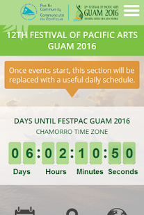 Official FestPac Guam 2016 App- screenshot thumbnail