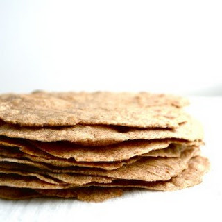 Homemade Sprouted Wheat Tortillas