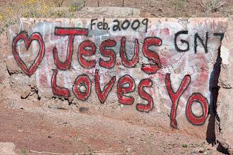 Photo: Jesus Love Yo... Yoga?  Yo-yos?  Yogurt? March 2009
