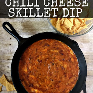 Chili Cheese Skillet Dip