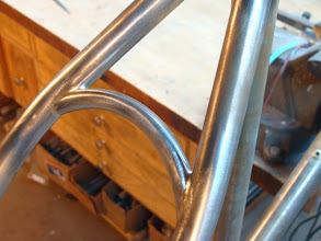 Photo: Another nice curve on that seat stay bridge.