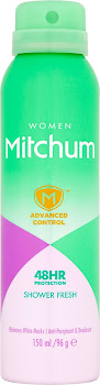 Mitchum Women 48H Protection Anti-Perspirant & Deodorant Spray - Shower Fresh, 150ml