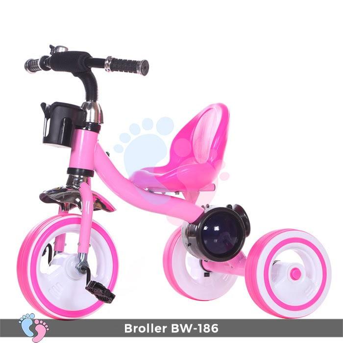 Xe đạp 3 bánh Broller XD3-186 có đèn bánh xe 2