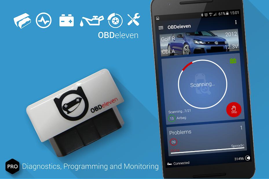 OBDeleven car diagnostics
