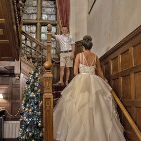by Jo Darlington - Wedding Bride & Groom