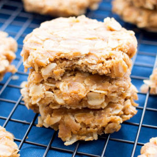 3 Ingredient No Bake Peanut Butter Oatmeal Cookies (Gluten-Free, Vegan, Dairy-Free) Recipe
