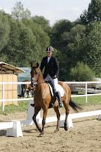 Photo: Krystyna Kułach na koniu LANGUSTA