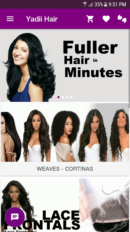 Yadii Hair Extensions- screenshot