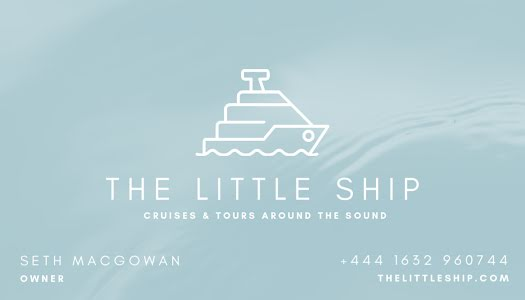 The Little Ship - Business Card Template