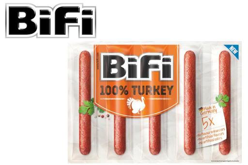 Bild für Cashback-Angebot: BiFi 100% Turkey (5x20g)