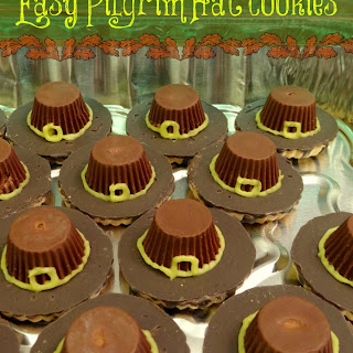 Easy Pilgrim Hat Cookies for Thanksgiving (No cooking required!)