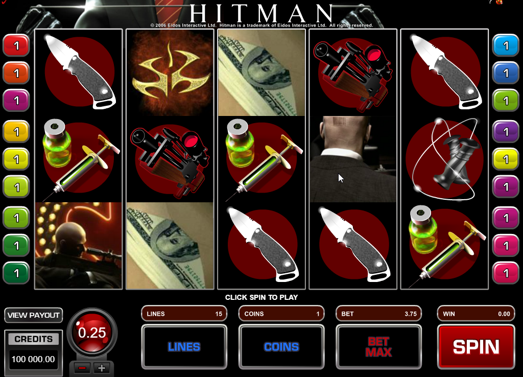 Hitman Slots Machine Review