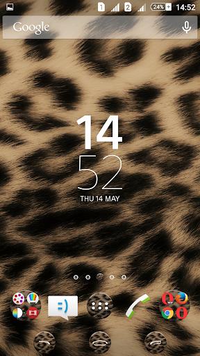 Leopard Skin Xperien Theme