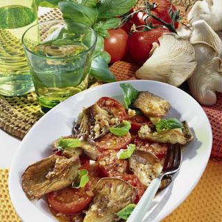 Marinated Mushrooms and Tomatoes