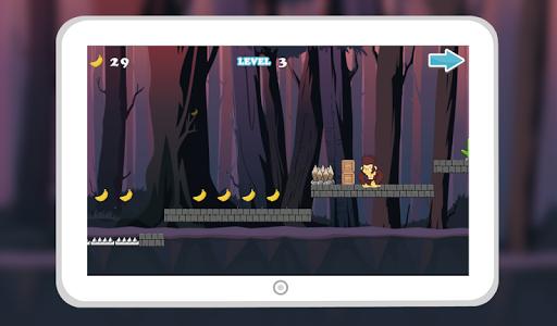 Monkey Jungle Run Dash screenshot 4