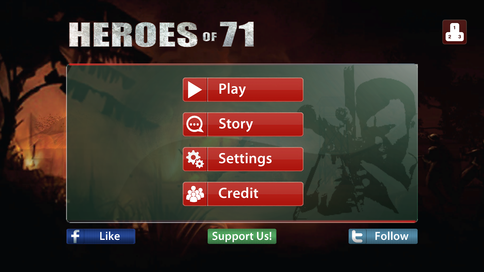 Heroes of 71- screenshot