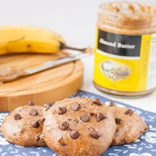 Flourless Almond Butter Banana Cookies.