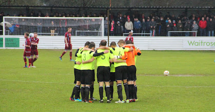 Photo: 01/01/14 v Hemel Hempstead (Southern League Premier Division) 1-3 - contributed by Gary Spooner