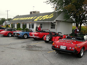 Photo: Un arrêt-déjeuner chez Ti-Polo