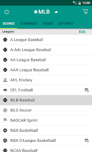 Sports Scores screenshot 4