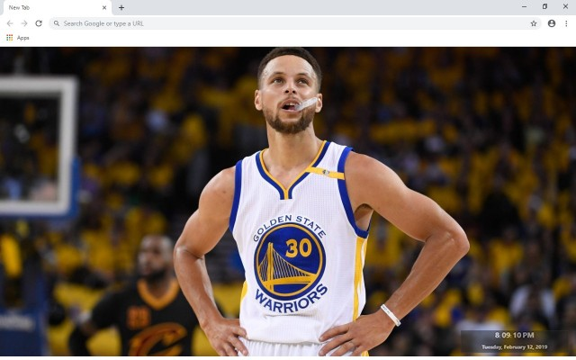 Stephen Curry New Tab & Wallpapers Collection