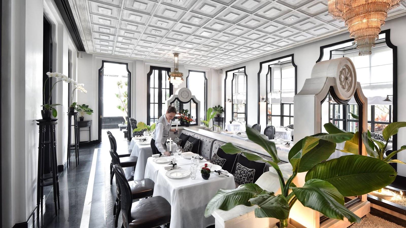 Nhà hàng La Maison 1888 ấn tượng với không gian sang trọng
