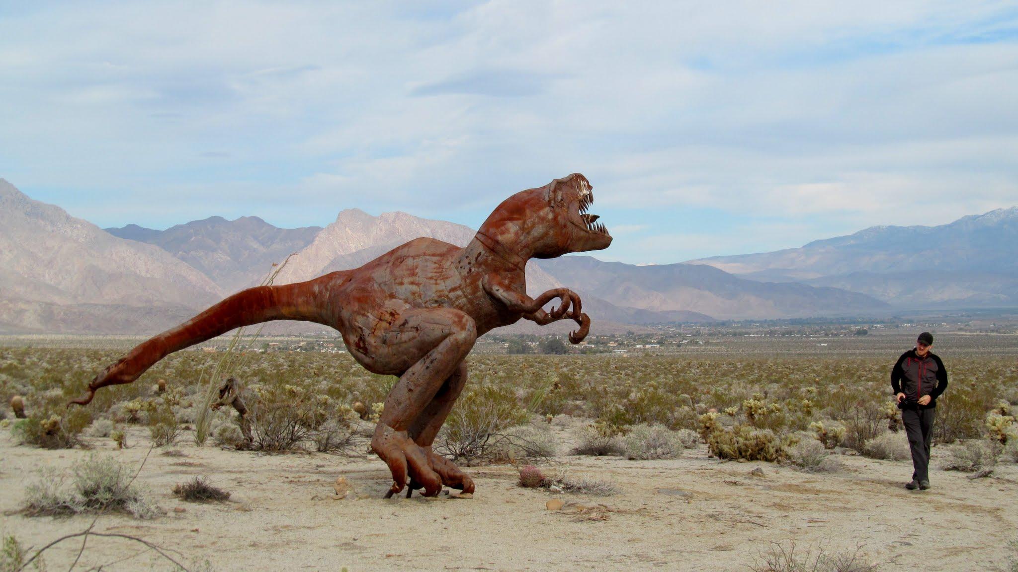 Photo: T-Rex and Sassy