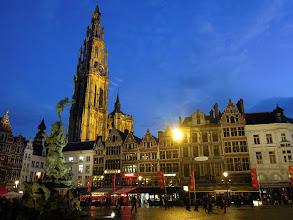 Photo: Grote Markt Antverpy na začátek
