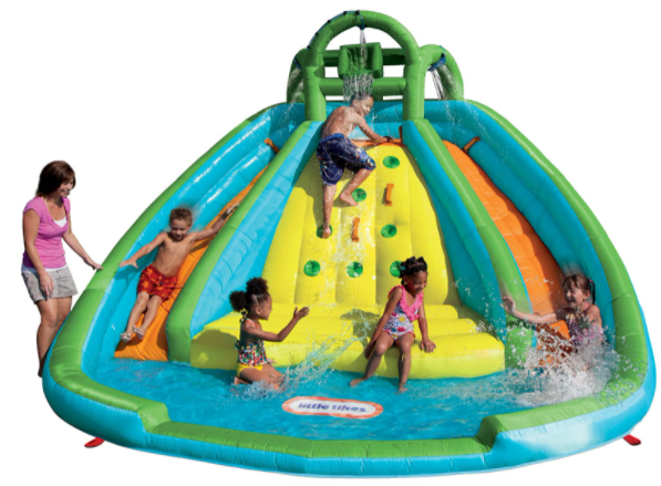 2. Little Tikes Rocky Mountain River Race Inflatable Slide