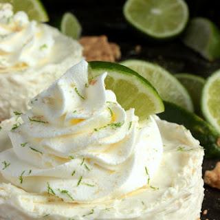 Mini No Bake Key Lime Pie Cheesecake