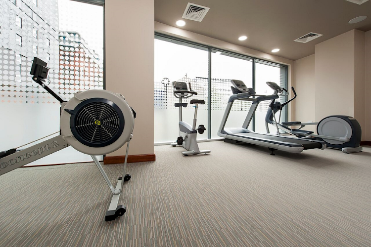 Gym at La Reserve Aparthotel Manchester
