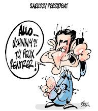 Photo: 2007_ Présidentielle Française, élection de Nicolas Sarkozy