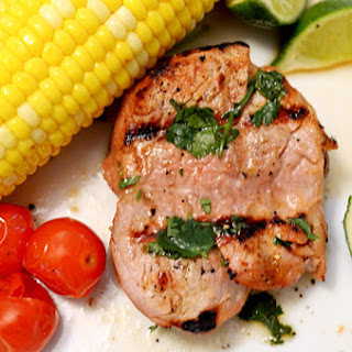 Alton Brown Pork Chops Recipes.